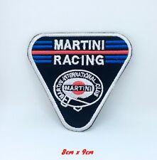 Martini Racing Club Biker Jacket Iron on Sew on Embroidered Patch applique #1321