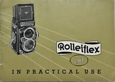 ROLLEIFLEX 2.8F CAMERA INSTRUCTION BOOK