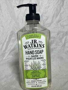 J. R. Watkins Liquid Hand Soap - Aloe & Green Tea - 11 oz