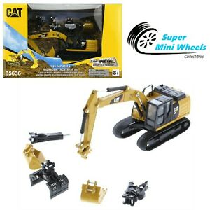 CAT 1:64 - Play & Collect - Cat 320F L Hydraulic Excavator with 5 New Work Tools