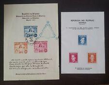 Philippines stamp Souvenir sheet Japan Government