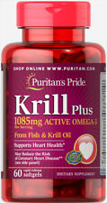 Puritan's Pride Krill Oil Plus High Omega-3 Concentrate 1085 mg - 60 Softgels