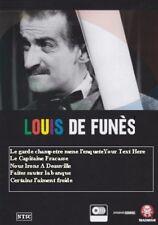 Louis De Funes. Collection 8. FRANÇAIS  (NO subtitles) 5 films,  Comedy