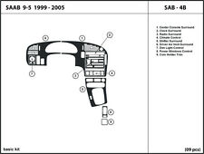 Dash Kit Trim for Saab 9-5 with automatic shifter 1999-2005 Interior SAB-4B