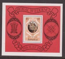 1981 Royal Wedding Charles & Diana MNH Stamp Sheet Jamaica SG MS520