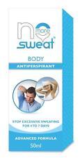 NO MORE SWEAT Body Advanced Anti-Pespirant : Stop sweating for 4- 7 Days, 50ML
