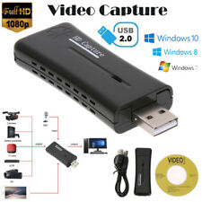 HD 1080P USB 2.0 HDMI Monitor Video Capture Converter Card Adapter w/ Driver CD