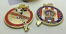 challenge coin NEW YORK CITY NYPD  Police    harley quinn suicide TIMES SQUARE