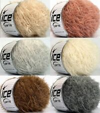 5,00€/100g Effektgarn Wolle Felloptik FUR 80%SuperKid Mohair 10%Wolle 100m / 50g