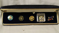 Vintage Christian Star of Light Proven Attendance Pin Set - COMPLETE - RARE