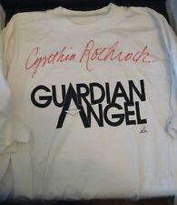 """Cynthia Rothrock"" Autographed ""Guardian Angel"" T-Shirt! RARE!"