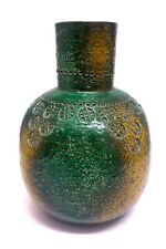 Mid Century ALDO LONDI BITOSSI EAMES ERA Vase ITALIAN VTG ART POTTERY