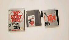 Golgo 13: Top Secret Episode Nintendo NES COMPLETE VIDEO GAME