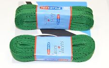"1x Texstyle 1810Mtw Laces, 108""/274cm, Kelly Green, Waxed, Pro, 1 Pair"