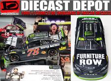 MARTIN TRUEX JR 2017 NASCAR MONSTER ENERGY CHAMPIONSHIP FURNITURE ROW 1/24 ACTIO
