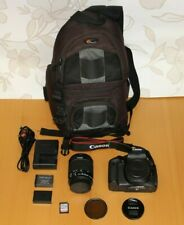 Canon EOS EOS 750D 24.2MP SLR Camera + Canon EF-S 18-55mm STM + Lowepro Bag +32g