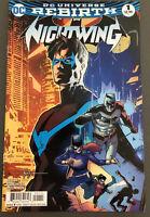 DC Comics Nightwing Rebirth #1 Dick Grayson Batman Bludhaven 2016 NM