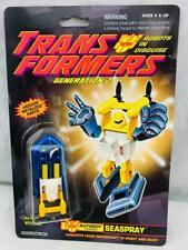 Transformers Original G2 1992 Minibot Seaspray MOSC Sealed Card Very Nice