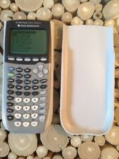 Texas Instruments TI-84 Plus Silver Edition Graphing Calculator With cover