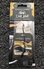 YANKEE CANDLE SCENT FOR CAR SINGLE CAR JAR NEW CAR