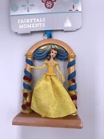 Disney Store 2020 *BELLE* Fairytale Moments Sketchbook Ornament NWT