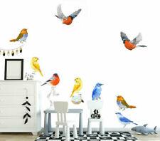 Fitch Birds Wall Sticker Nursery Kids Decor Window Furniture Decal Art Mural DIY