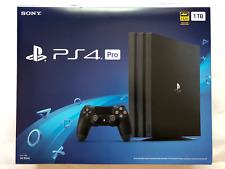 New Sony PlayStation 4 Pro 1TB Black Console