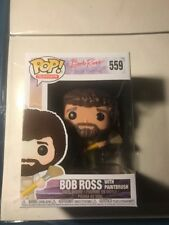 Funko Pop TV Bob Ross With Paintbrush  Collectible Figure #559