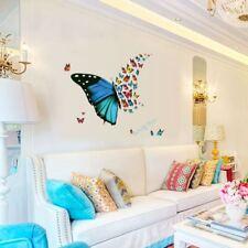 Schmetterling Mädchen Wohnzimmer  Wandtattoo Wandsticker Butterfly