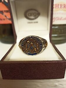 Masonic Mens Ring T.5 size Stainless Steel