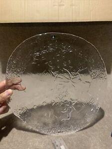 Pukeberg Plate With Sticker 27cm