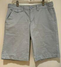 Old Navy Women's Flat Front Low Waist Bermuda Shorts Light Blue size 6