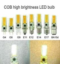 10pcs G4 G9 E14 5W COB Led bulb 2508 Cool/ Warm White Corn Light 1pc 5pc WJ