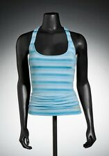 Oakley Twisted Ladies Tank Vest Top 531440 Blue Size UK Extra Large (16) NEW