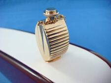 "UNIQUE "" PERFUME BOTTLE"" VINTAGE SOLID GOLD PENDANT 15.4 GRAMS, 14K YELLOW GOLD"