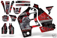 Honda CR500 CR 500 Graphics Kit Dirt Bike Wrap MX Stickers Decals 89-01 TOXIC R