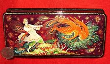 Russian GICLEE style LACQUER Box Fairy Tale Tsarevitch Ivan Fire Bird PALEKH ART