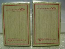 2 Decks Packs Masonite Corporation Promo Playing Cards Lot