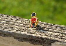 Coldstream Guard Bearskin British Army Uniform Metal & Enamel Lapel Pin Pinback