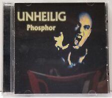 UNHEILIG Phosphor CD 2001 Germany Bloodline Electronic Alt Rock Synth Pop