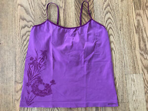 Patagonia Womens Capilene Camisole Tank Top XL Hike Run Workout Fitness Purple