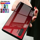 Gradient Glass Case For Samsung Galaxy Note 20 10 98 S21 S20 Ultra Plus S8S9 S10