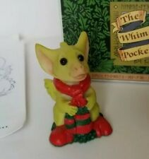 """""""Mitten Toes"""" Whimsical World of Pocket Dragons by Real Musgrave with Box"""