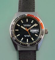 Vintage 60s CARAVELLE by BULOVA 666 Feet Rotating Bezel Divers Watch