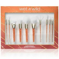 Wet n Wild Pro Brush Collection Set 10 pcs  Limited Edition Brand New