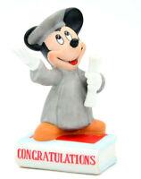 Disney Characters Figurine Micky Maus als Student Porzellan handbemalt