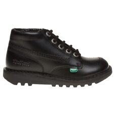 Kickers Kick Hi Classic Infant Boots Size 25 Uk 8 Black