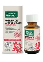 New Thursday Plantation Certified Organic Rosehip Oil 25ml Restorative