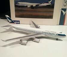Blue Box Cathay Pacific Boeing 747-400 B-HKD 1 400 scale model plane BigBird