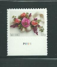 US Scott # 5458 Garden Corsage 2020 Plate # Single Mint NH